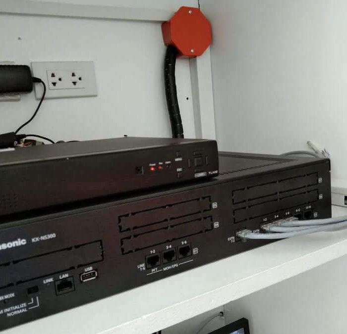 PABX and CCTV installation